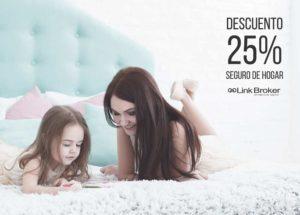 Promoción Seguro de hogar Descuento 25%